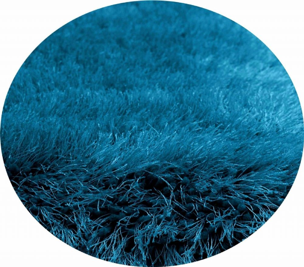 Teal Colour Thick Super Soft Fluffy Deep Pile Luxury Plain Stylish Modern Shaggy Rugs